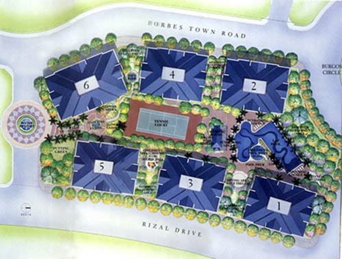Forbeswood Heights Site Map