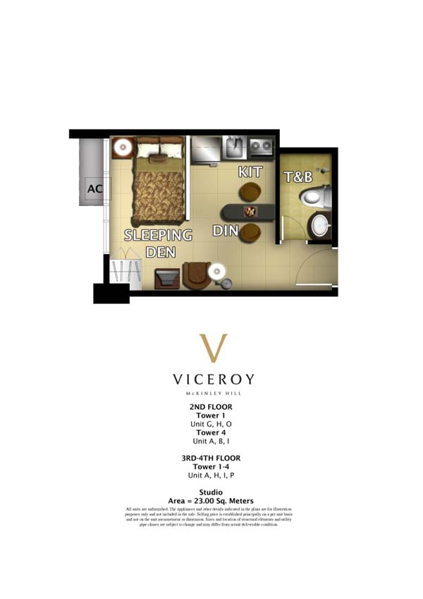 23 sqm of Viceroy